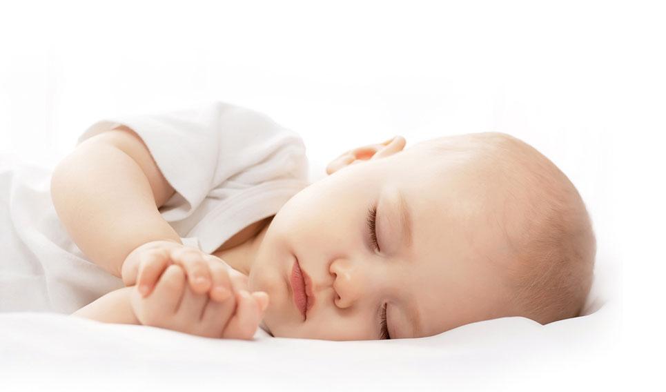 Ein schlafendes Baby