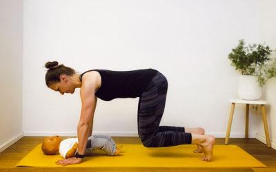 Fitness mit Baby: Starke Körpermitte zuhause
