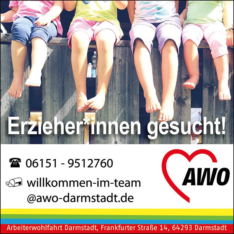 Stellengesuch der AWO Darmstadt