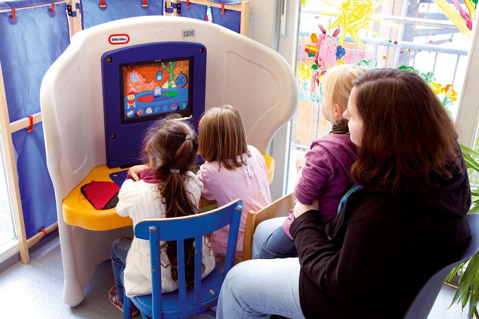 Digitale Medien in der frühen Kindheit