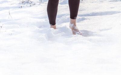Barfuß im Schnee…