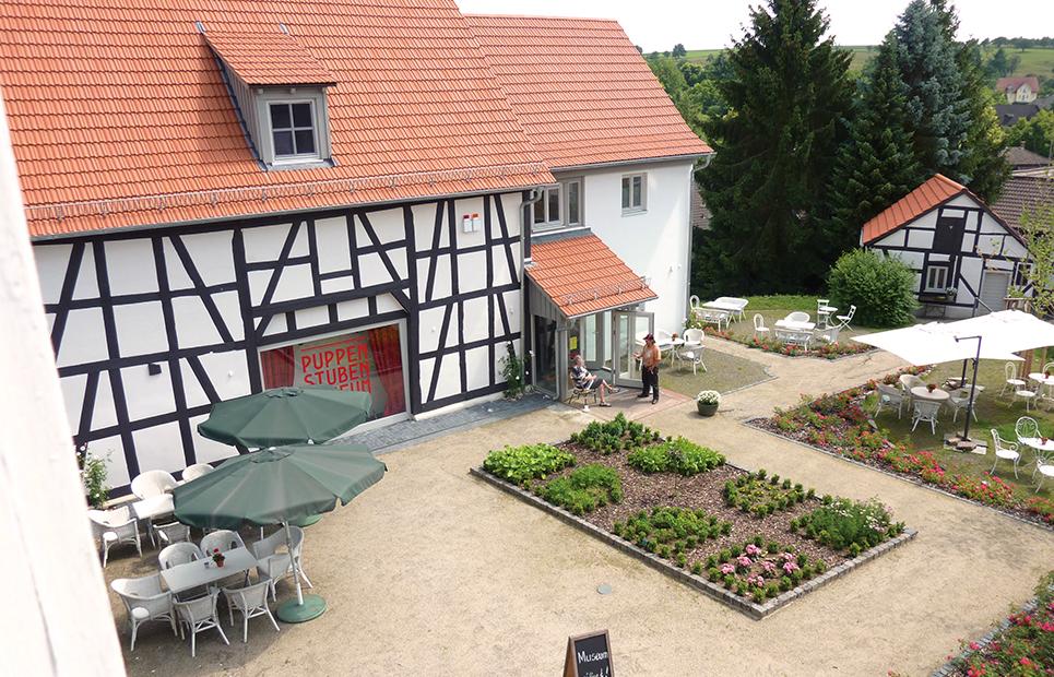 Außenansicht auf das Puppenstuben-Museum Laubach