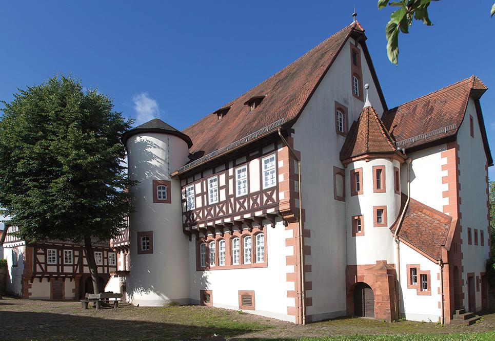 Außenansicht des Museums Brüder Grimm-Haus in Steinau an der Straße